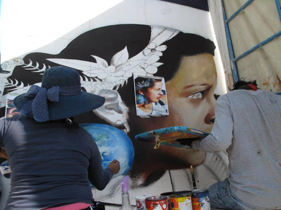 IEC impulsa la creatividad con el curso de graffiti en Moroleón